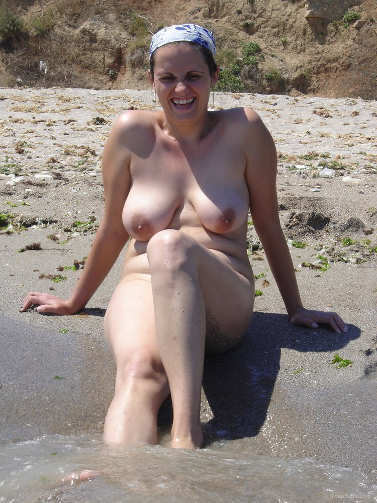 wife topless my