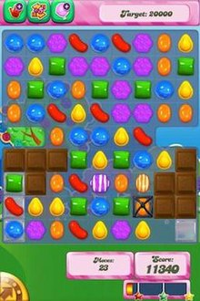 games crush of candy